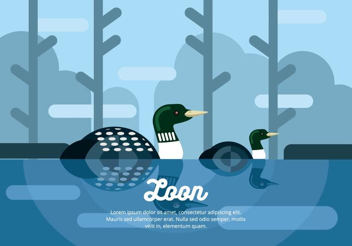Loon Illustratie