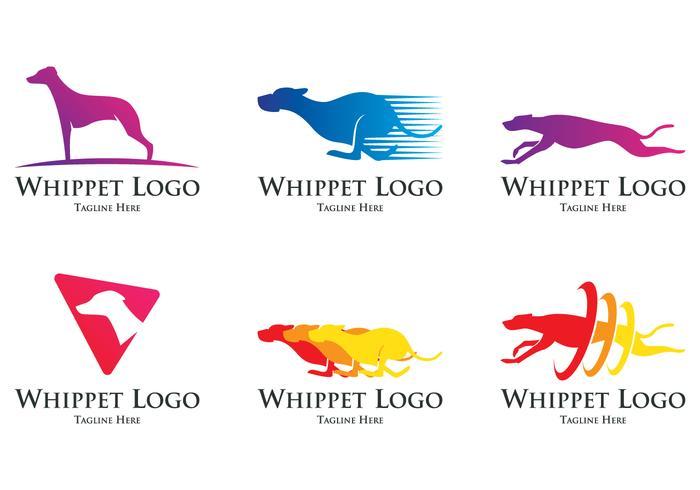 Het Logo van de Hond van Whippet