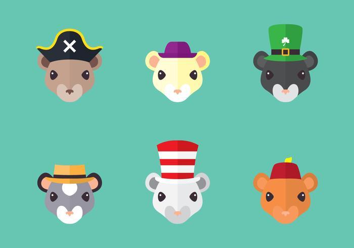 Gerbil Wear Hat