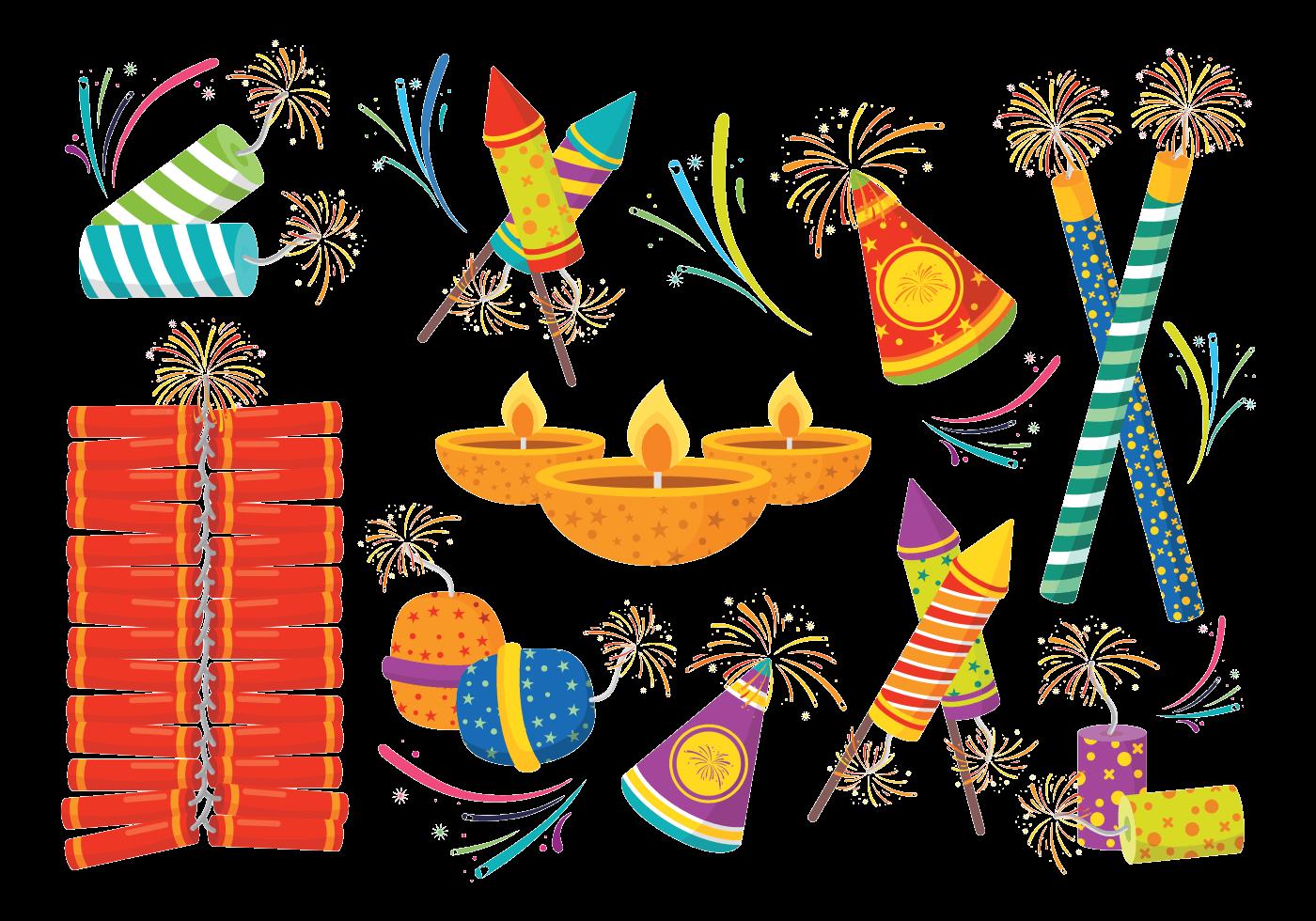 Diwali Hd Png Transparent Diwali Hd Png Images: Diwali Fire Crackers Icons Vector