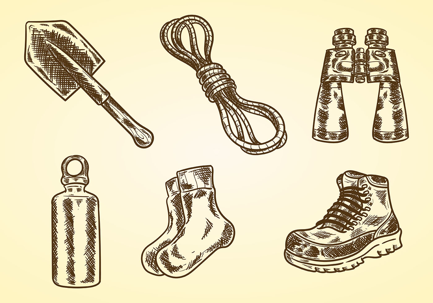 Hiking Icon Free Vector Art 69203 Free Downloads