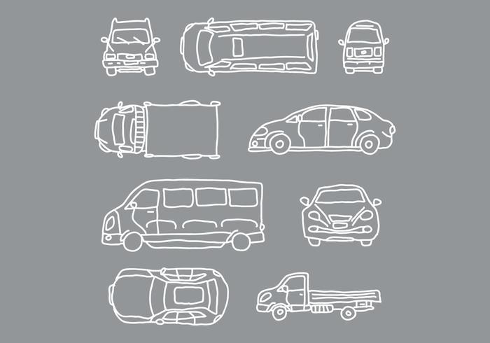 Car and Vehicle Vectors