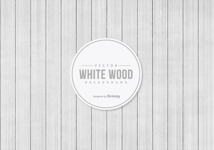 White Vector Wood Background