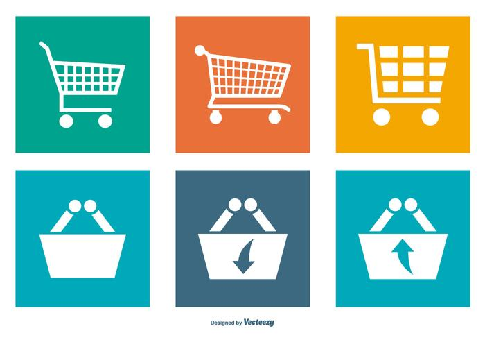 Shopping Carts Icon Collection