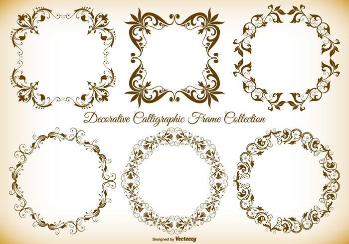 Decorative Vector Frames Collection