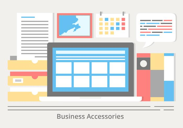 Gratis Flat Design Vector Smart Office