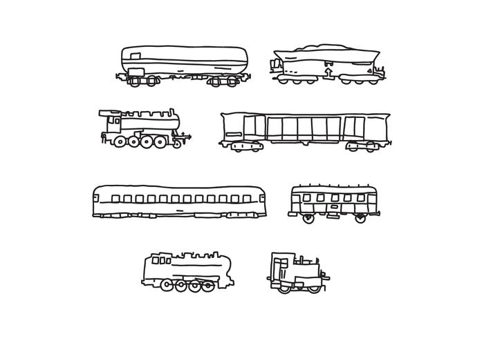 Cabooses And Trains