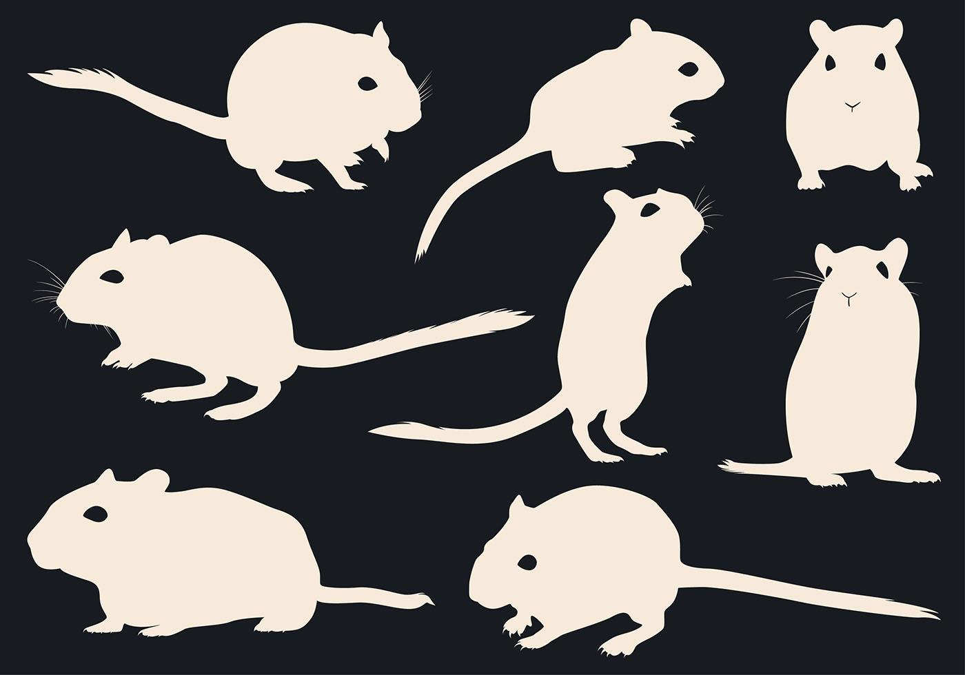 老鼠剪影 免費下載 | 天天瘋後製