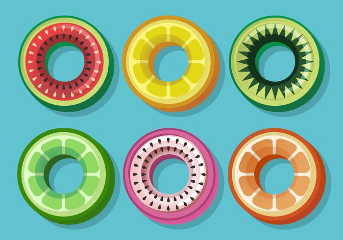 Fruit Innertube Vector Pack