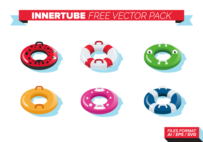 Innertube paquete de vectores gratis