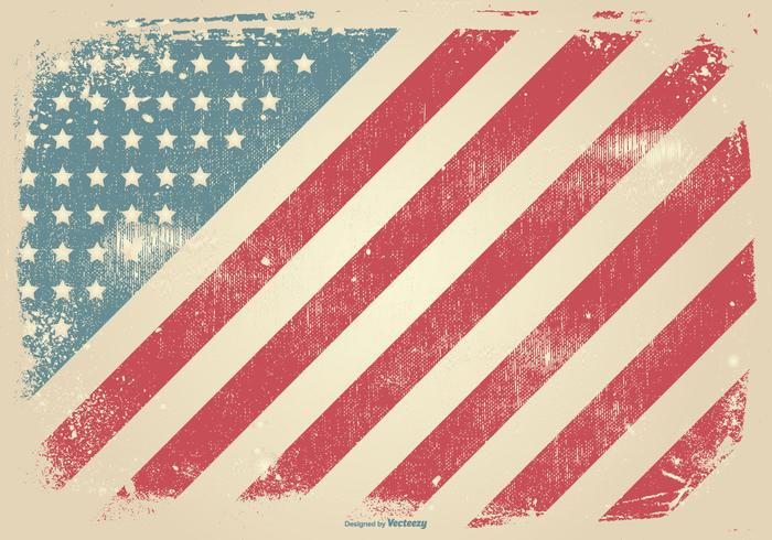 grunge style patriotic background download free vector
