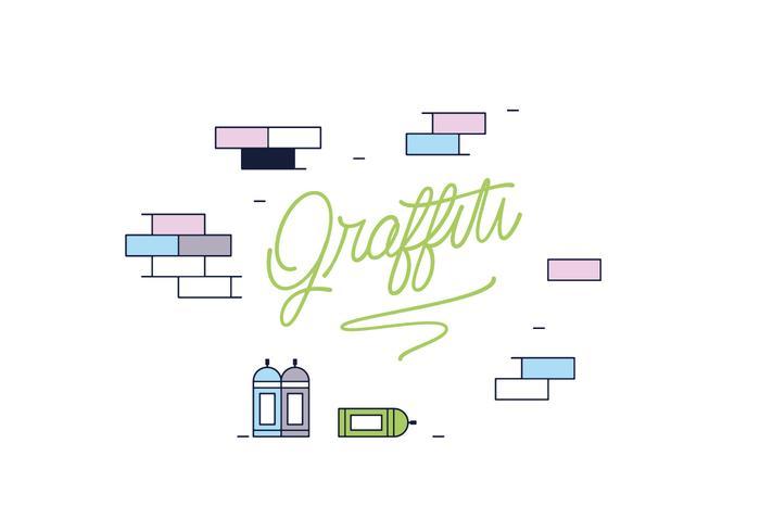Vecteur de graffitis gratuit