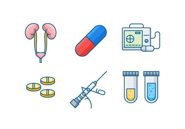 Freie Urologie Vektoren