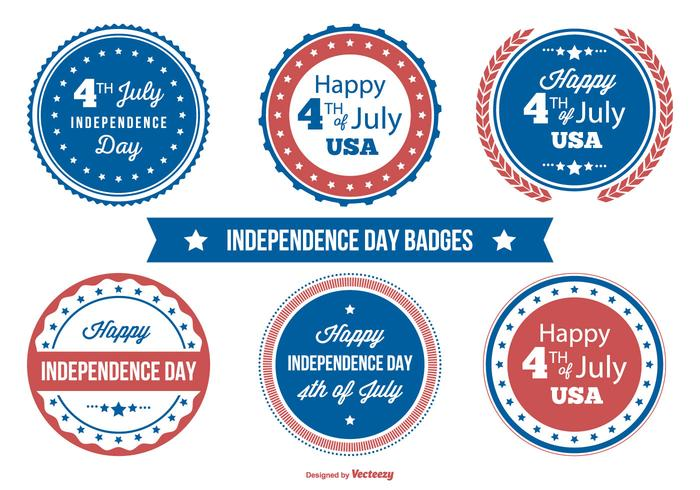 Independence Day Badge Collection