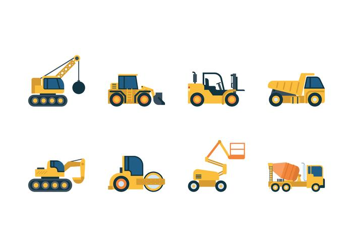 Construction Vehicle Icons