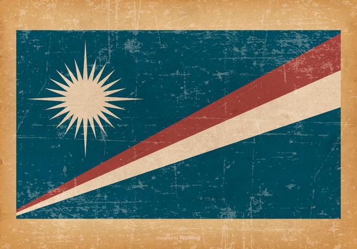 Bandeira do Grunge das Ilhas Marshall