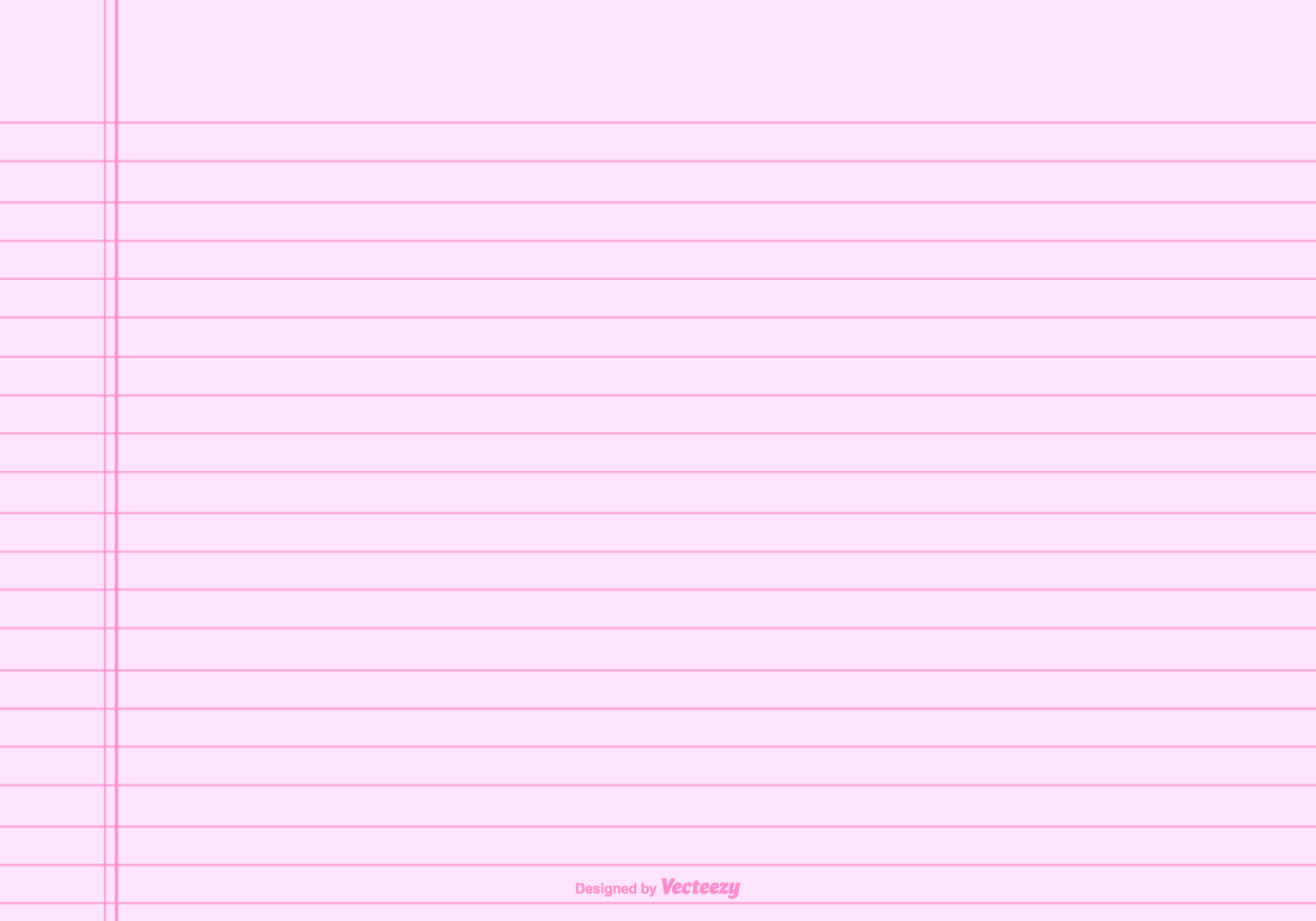 pink lined note paper background download free vector