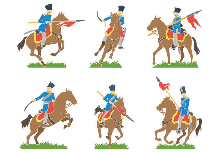 Kavalleri Vector Ikoner