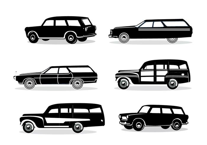 Station Wagon Silhouette