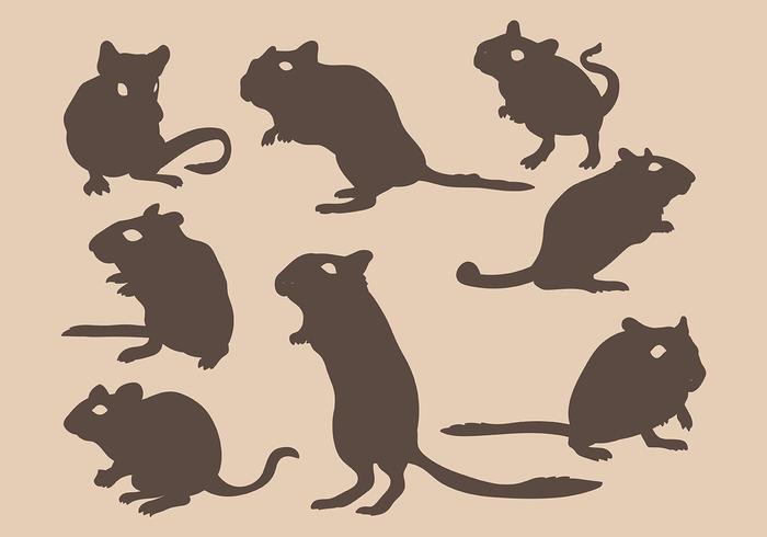 Gerbil Vector Icons