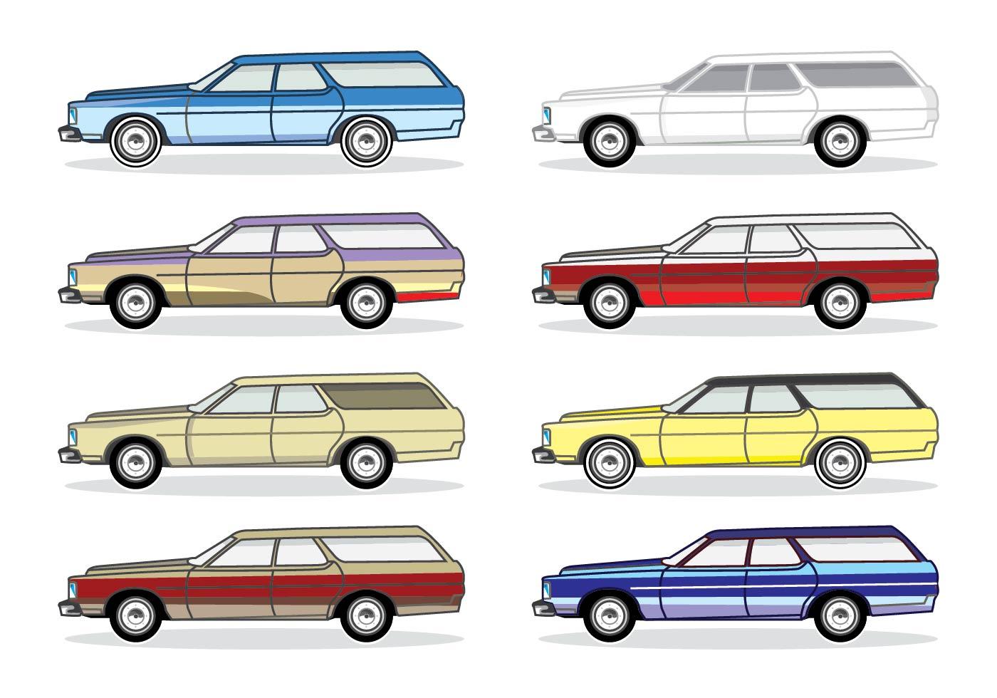 Classic Car Vector Clipart Free