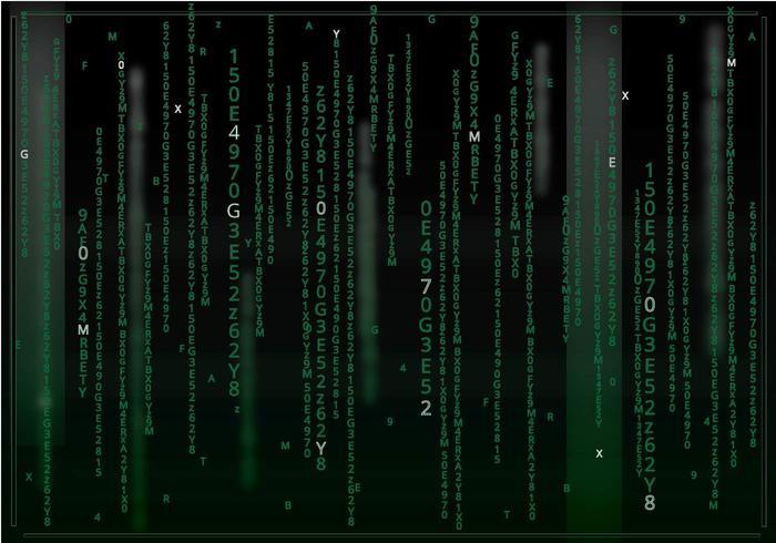Matrix Dark Background