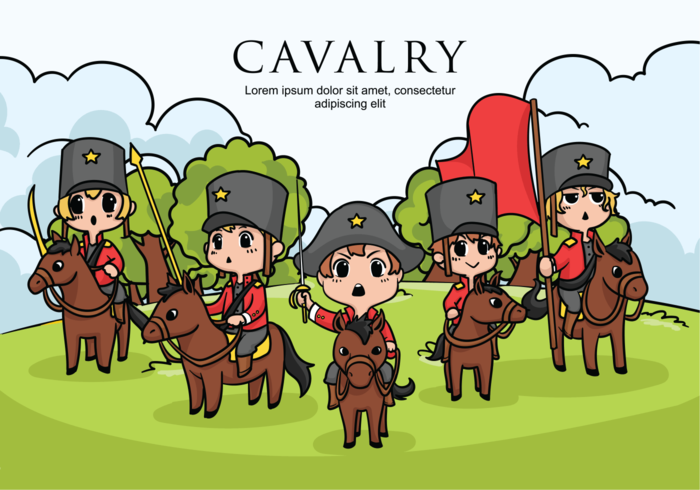 Cavalry Vector Illustration
