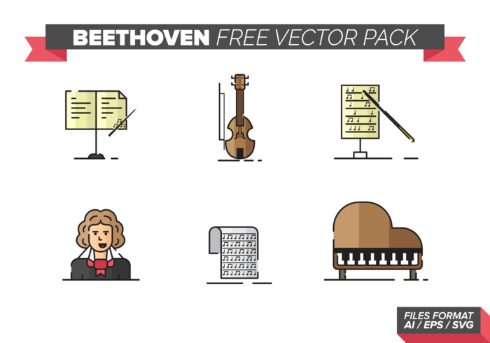 Beethoven Free Vector Pack