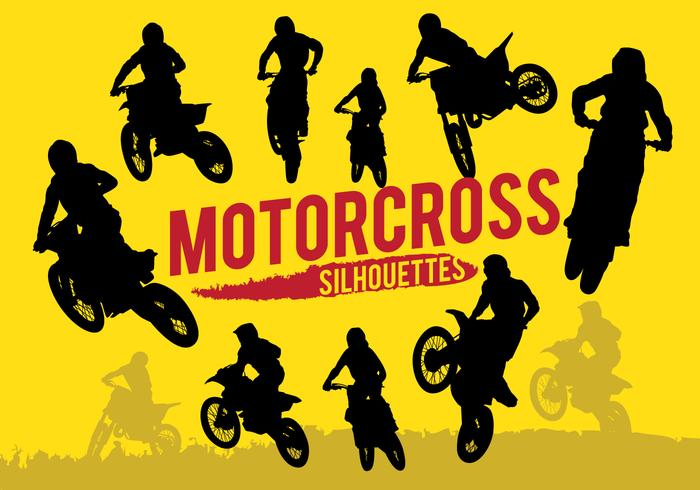 Silhouettes Motorcross