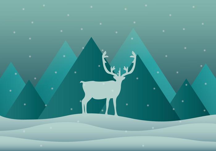 Snow Caribou