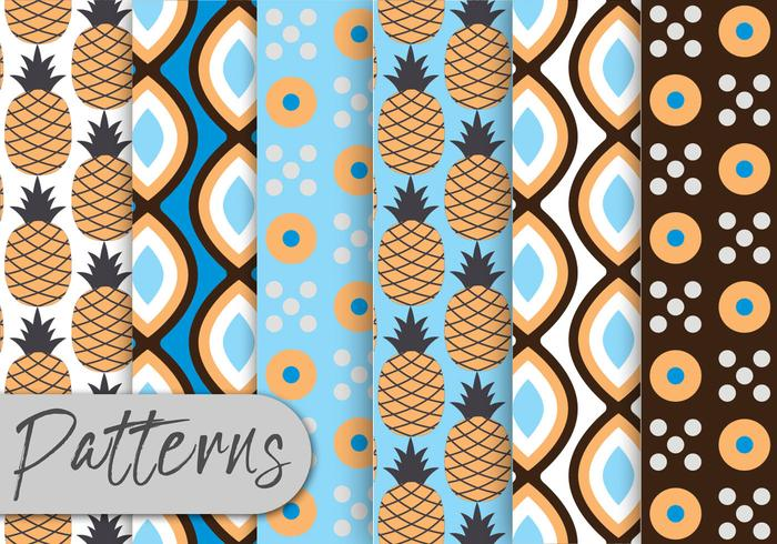 Pineapple Pattern Set