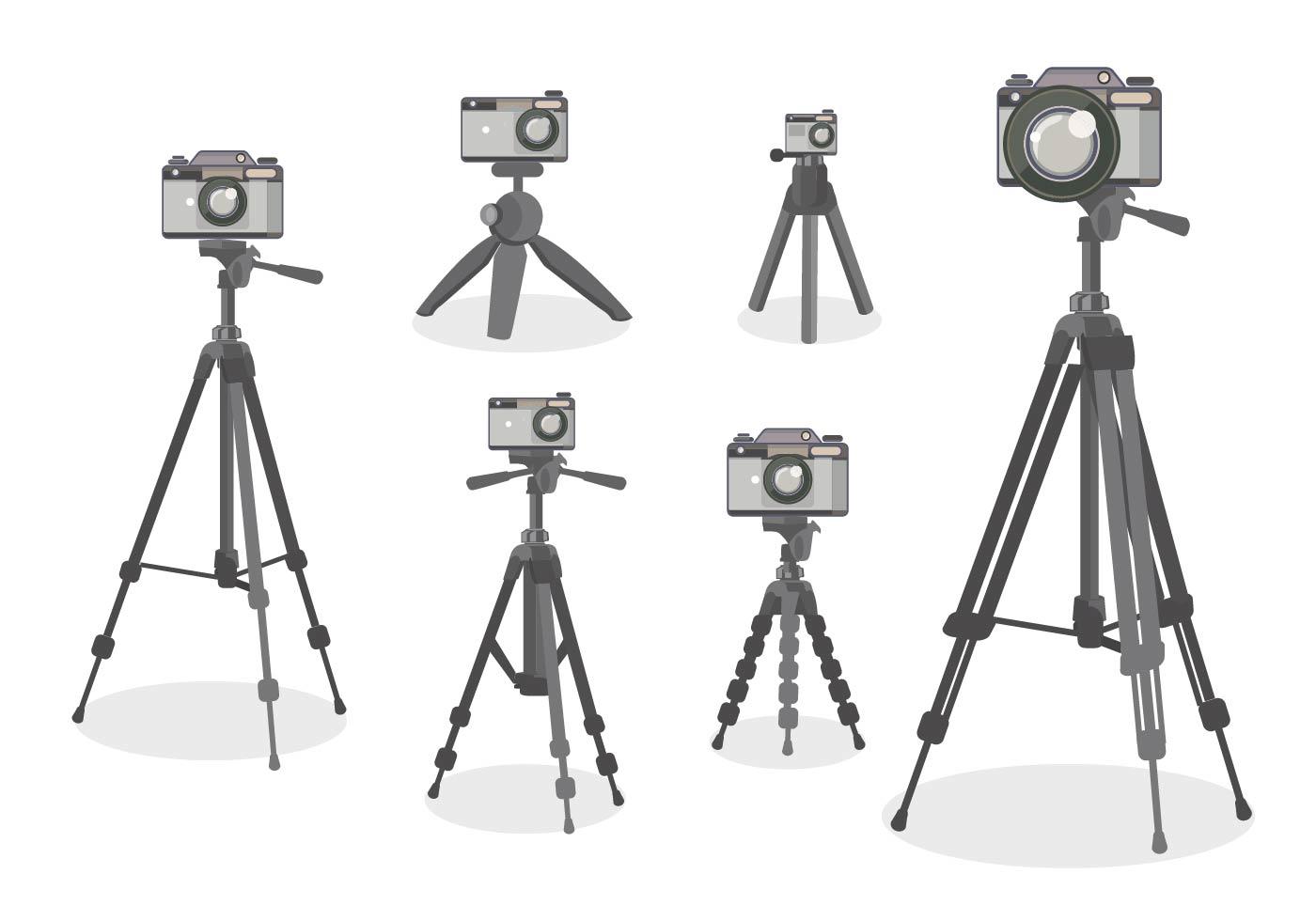 Camera Tripod Vector Flat Design style - Download Free ... (1400 x 980 Pixel)