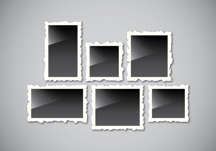 Realistischer Retro-Foto-Rahmen