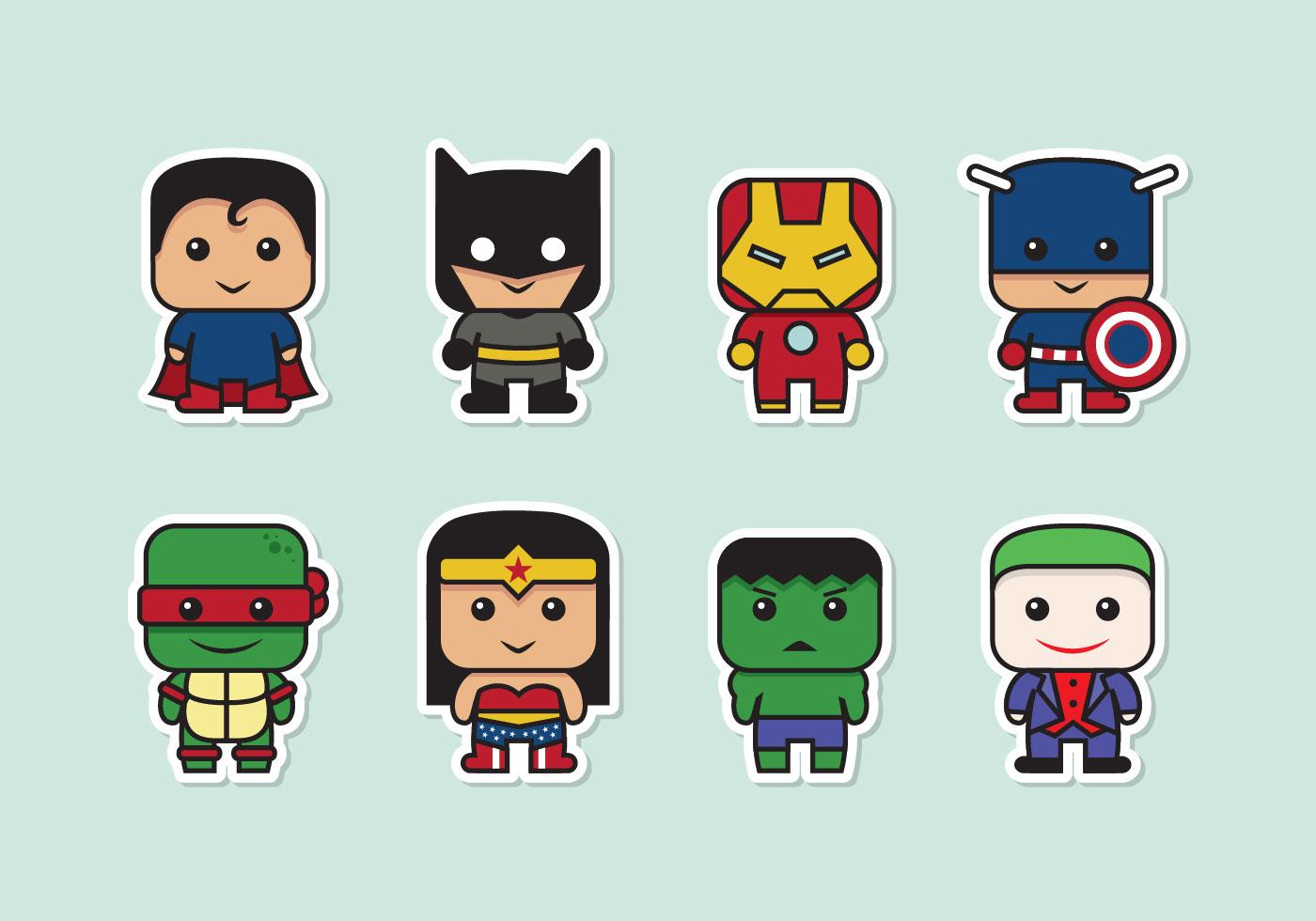 Cartoon Character Free Vector Art - (64,483 Free Downloads)