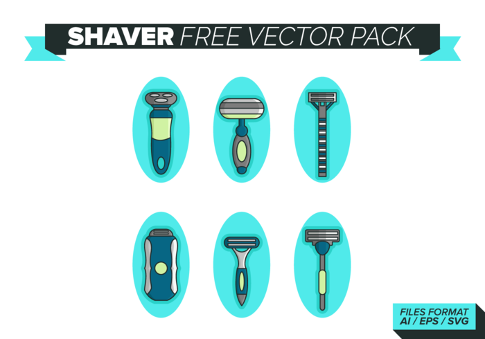 Shaver Free Vector Pack