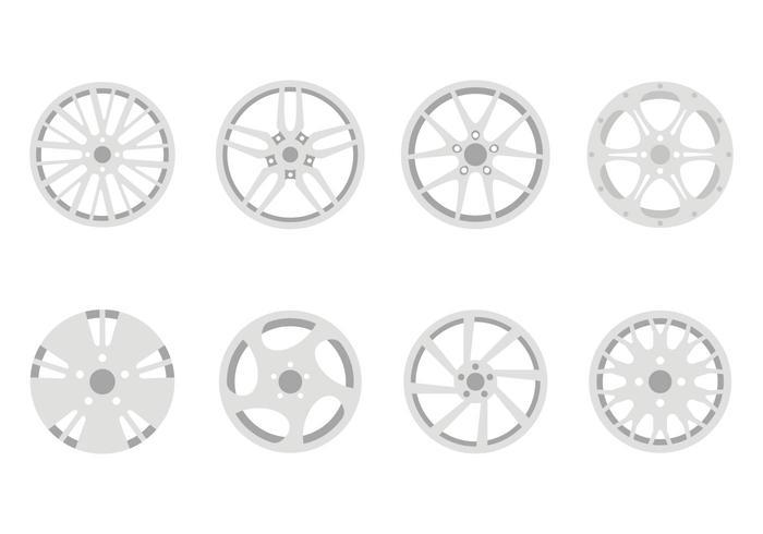 Flat Rims Vectors
