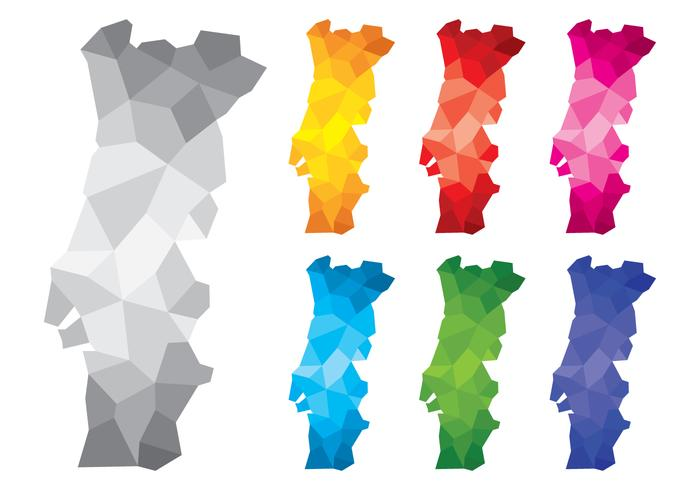 Polygonal Portugal Maps