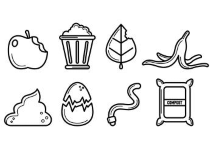 Set Of Compost Icons