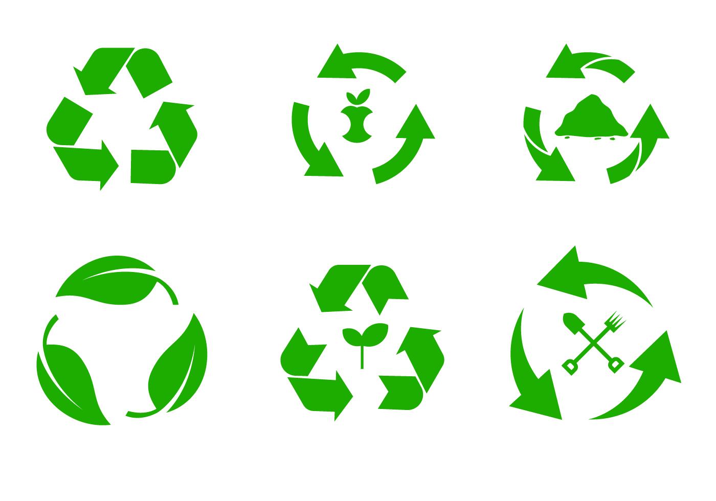 compost symbol vector download free vector art stock