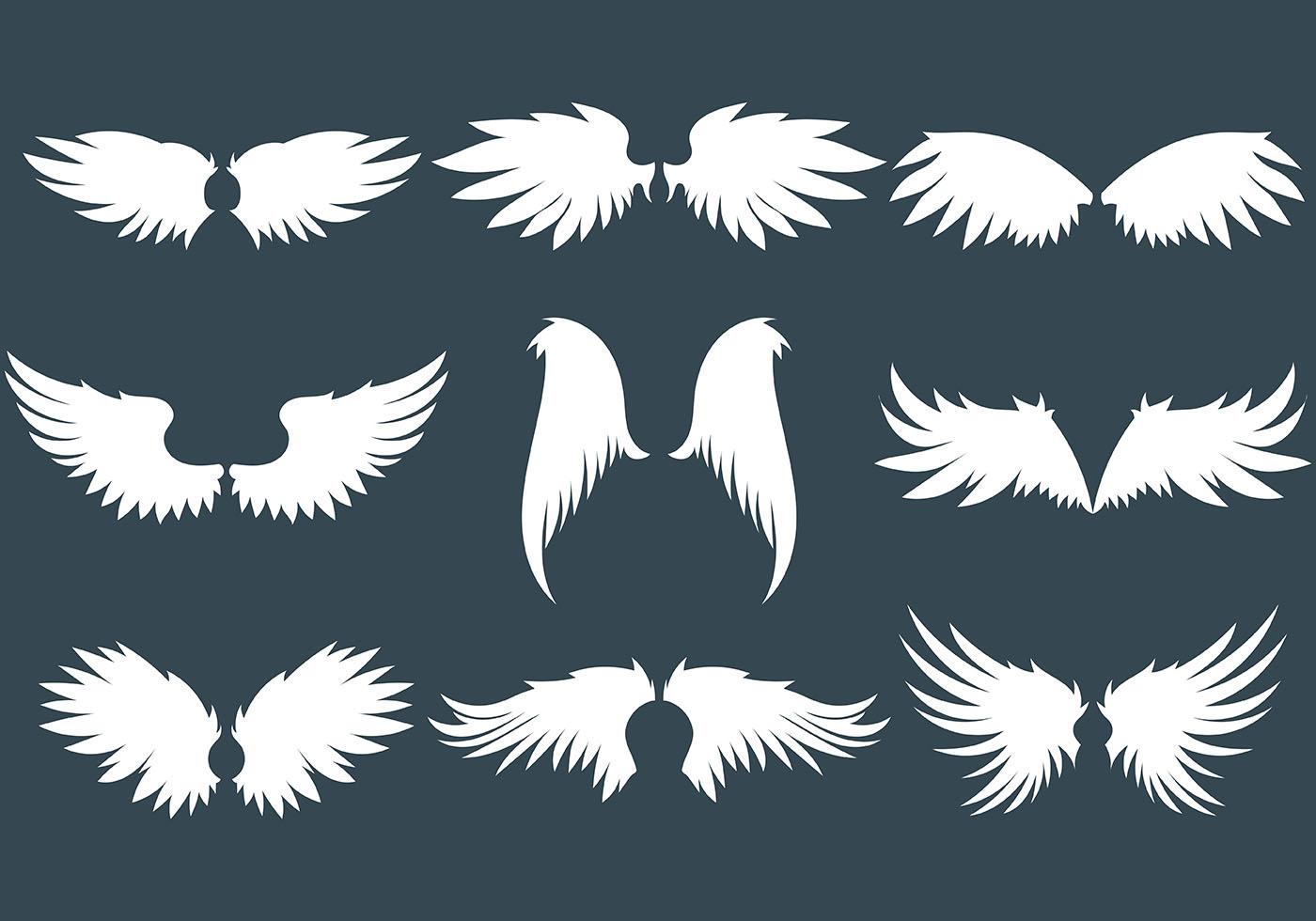 Картинки из символов крылья