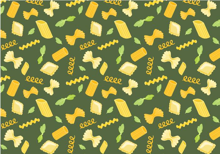 Free Pasta Pattern Vectors