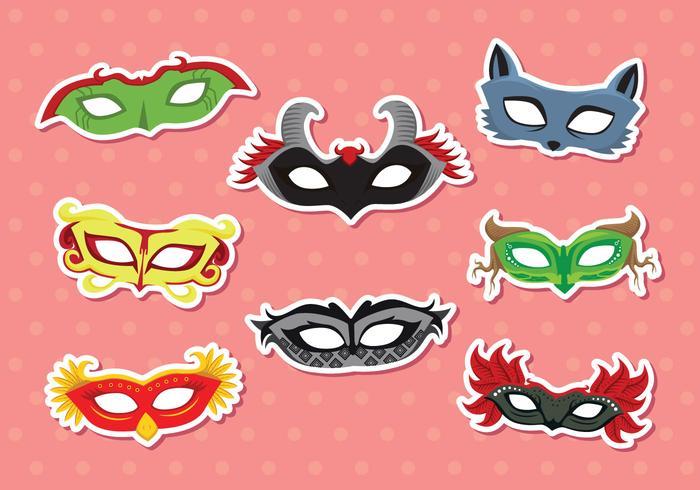 Masquerade Maske Vektor