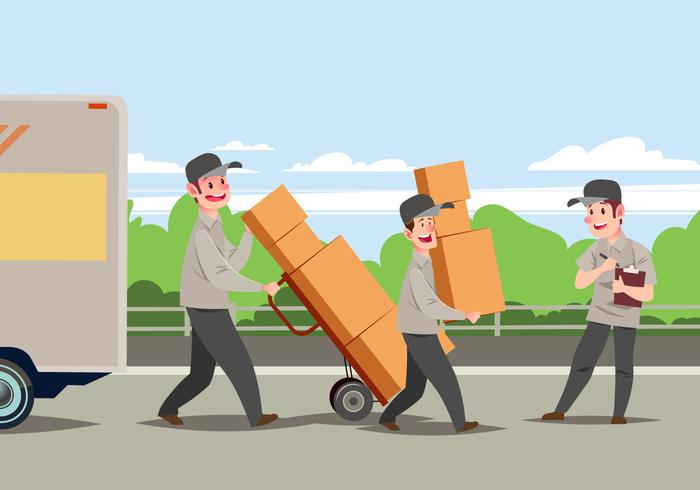 Commercial moving company