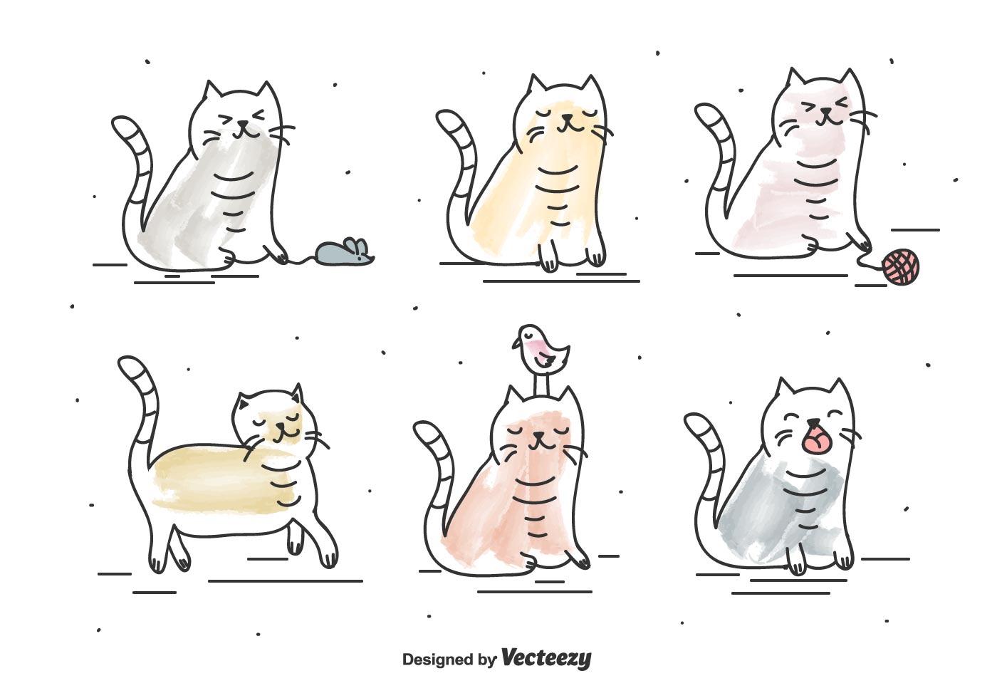 貓咪q版 免費下載 | 天天瘋後製