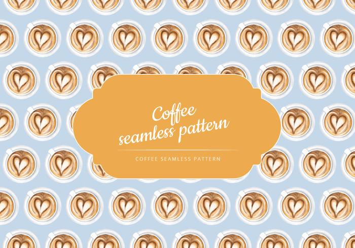 Cup of Coffee Vector Pattern