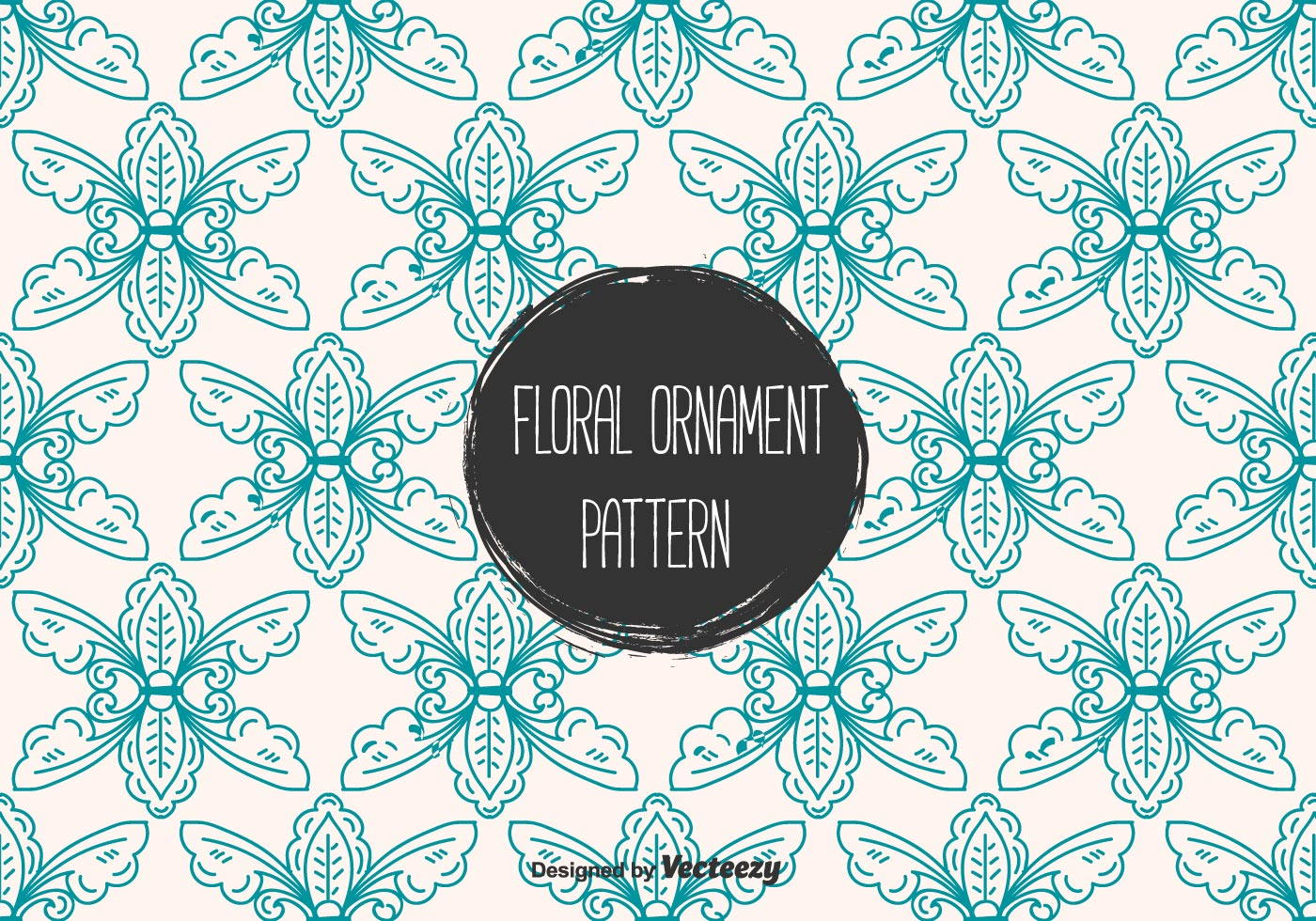Floral Ornament Vector Free: Floral Ornament Vector Pattern