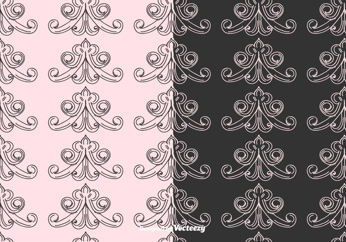 Romantic Vector Pattern