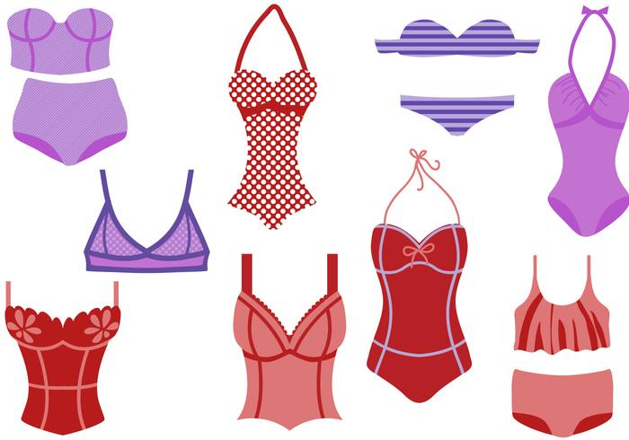 Free Bathing Suit Vectors