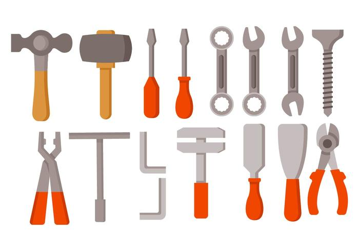Free Hand Tools Vector