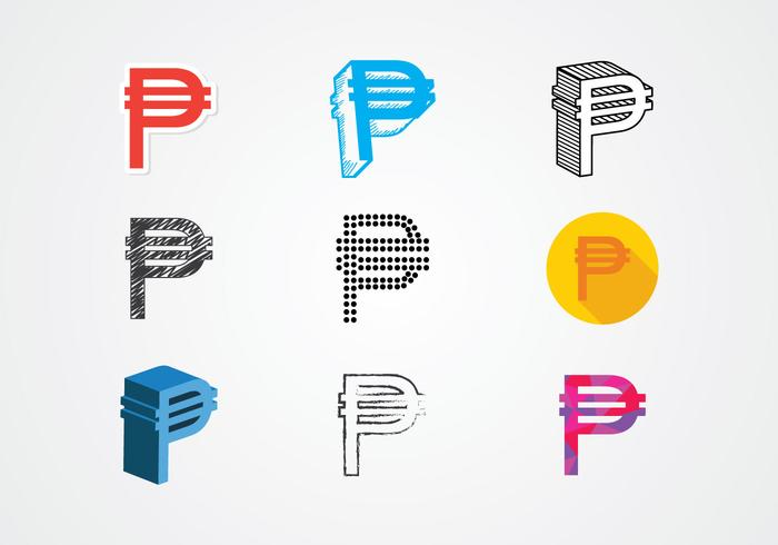 Currency Peso Symbol Vector